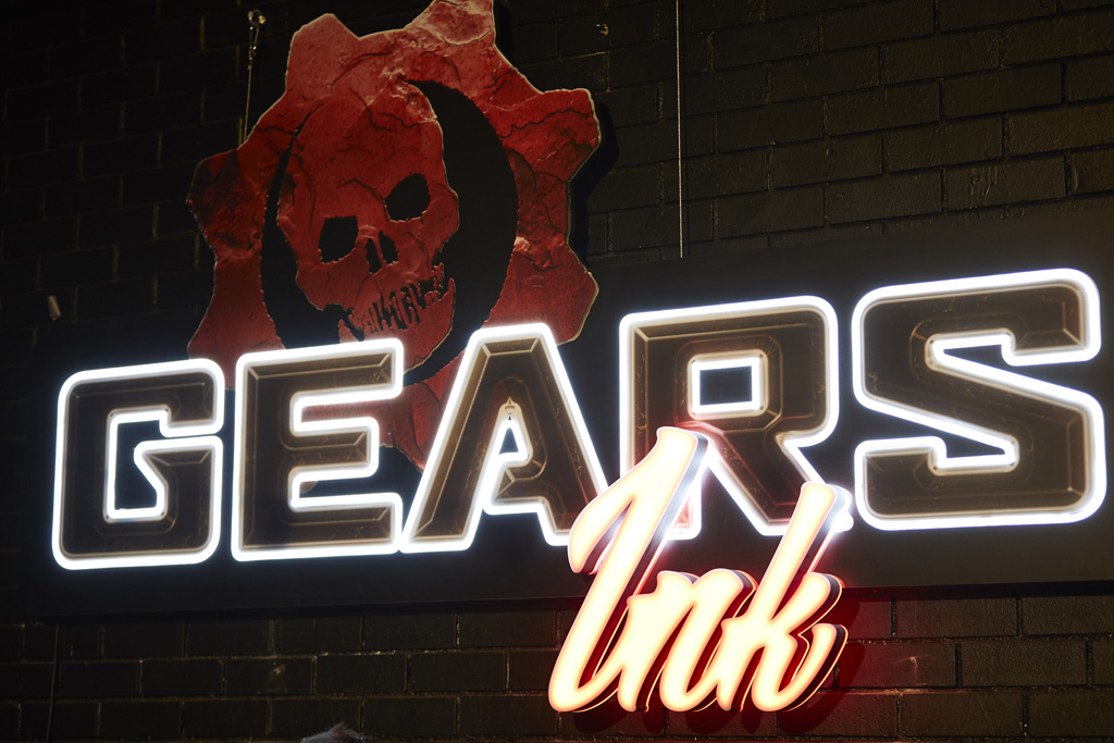 Gears Ink Signage